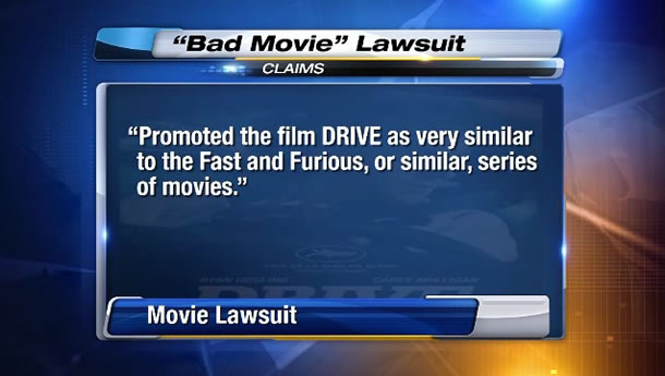 Drive lawsuit not like Fast and the Furious