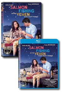 Salmon Fishing in the Yemen on DVD Blu-ray today