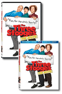 The Three Stooges on DVD Blu-ray today