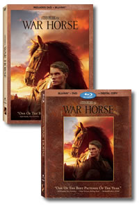 War Horse on DVD Blu-ray today