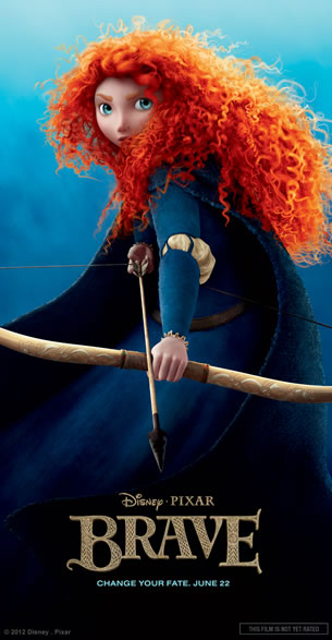 Brave Merida character poster