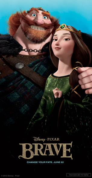 Brave Parents character poster