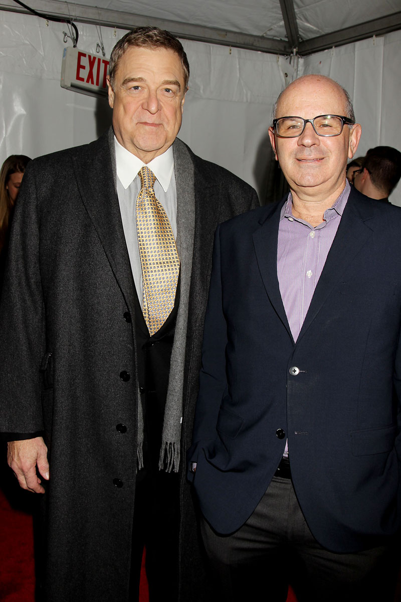 John Goodman and Steve Siskind (President Domestic Marketing)
