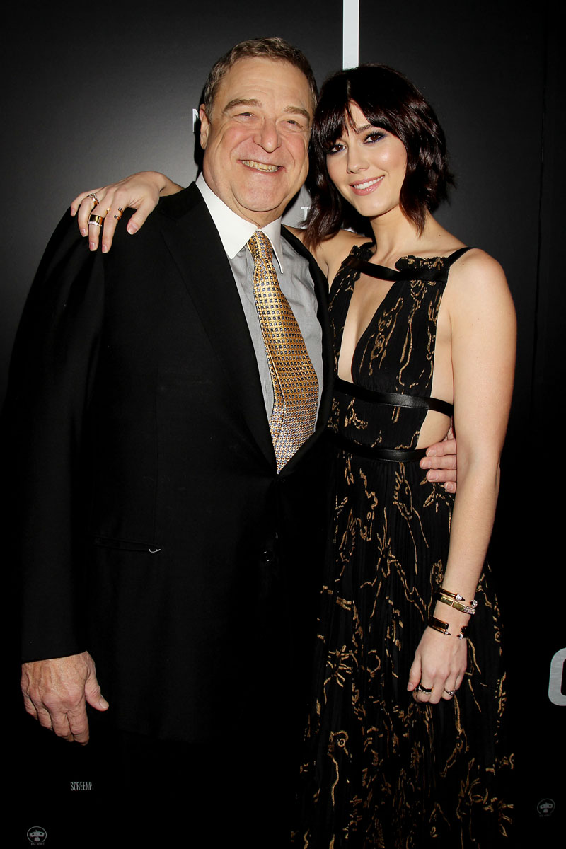 John Goodman and Mary Elizabeth Winstead