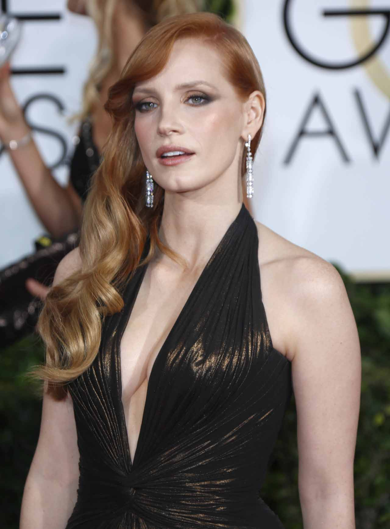 72nd Annual Golden Globe Awards at The Beverly Hilton Hotel - Arrivals Featuring: Jessica Chastain Where: Los Angeles, California, United States When: 11 Jan 2015 Credit: WENN.com **Not available for publication in Germany**