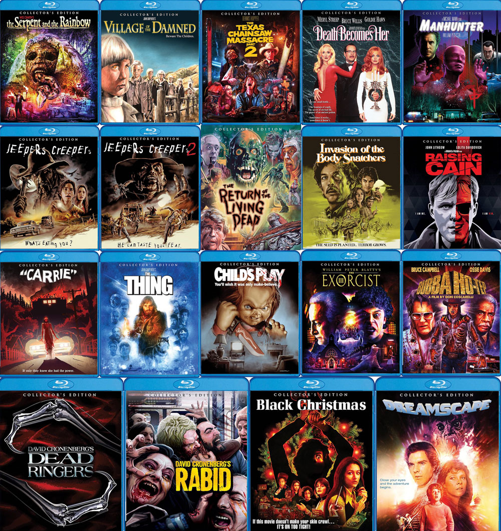 Scream Factory Collector's Editions