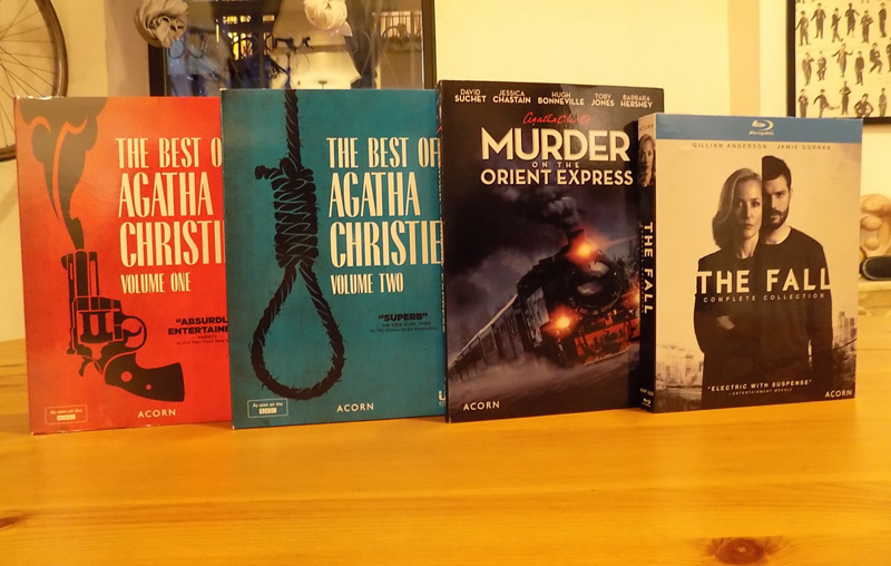 Agatha Christie Collections and The Fall Complete Series