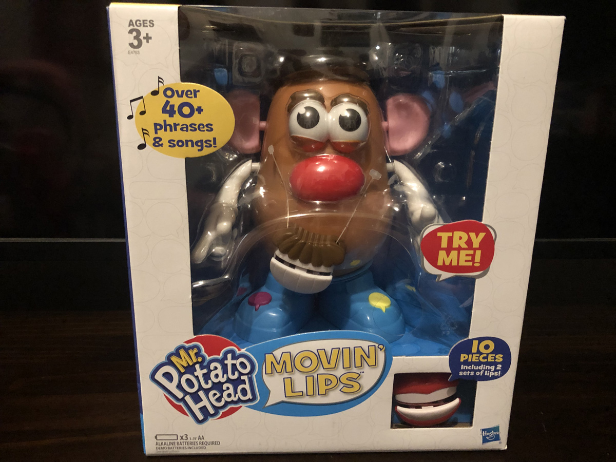 Playskool Mr Potato Head Movin' Lips