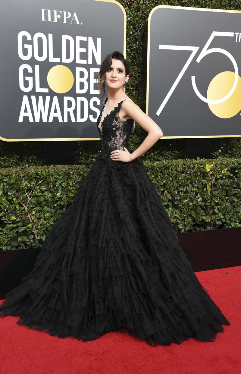 New movies movie trailers dvd tv video game news photos from the 75th golden globe - Golden globes red carpet ...