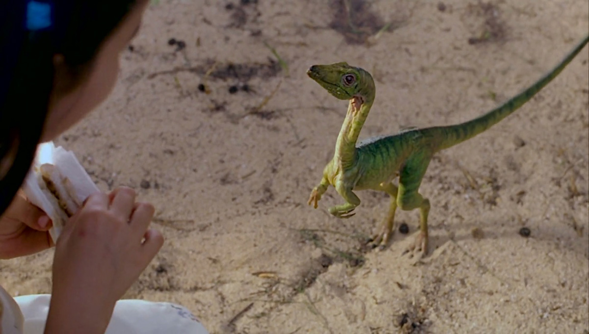 Compsognathus in The Lost World: Jurassic Park (1997)