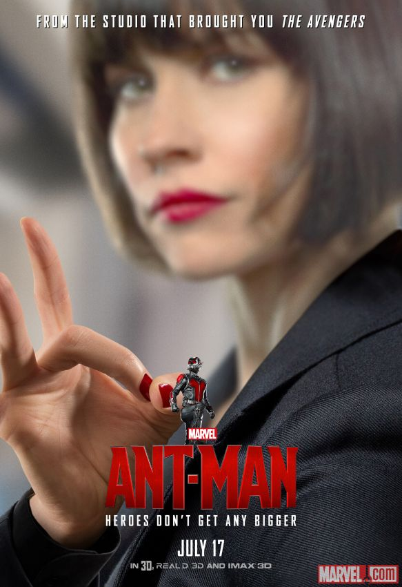 Ant-Man Evangeline Lilly Poster