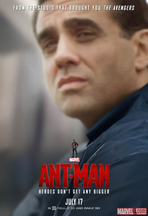 Ant-Man Bobby Cannavale Poster