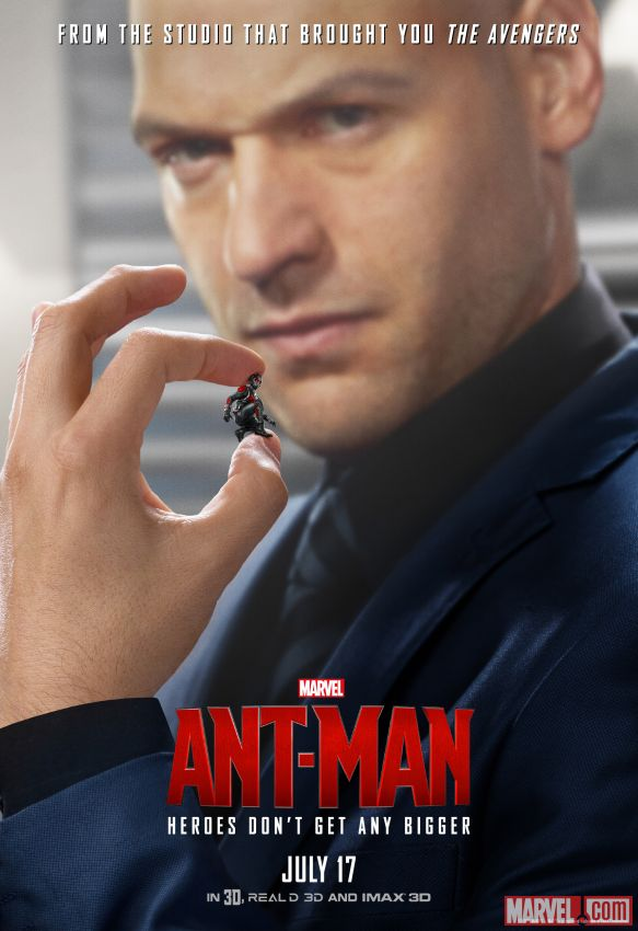 Ant-Man Corey Stoll Poster
