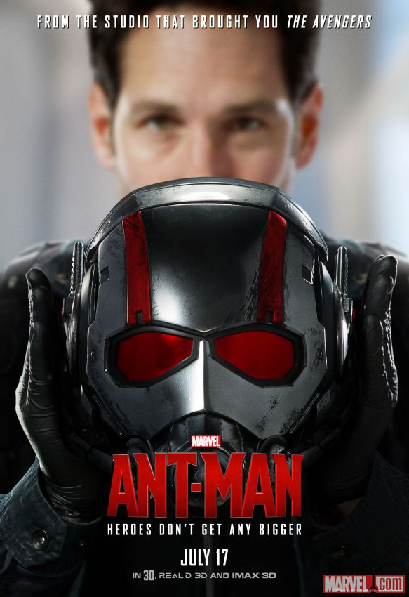 Ant-Man Paul Rudd Poster