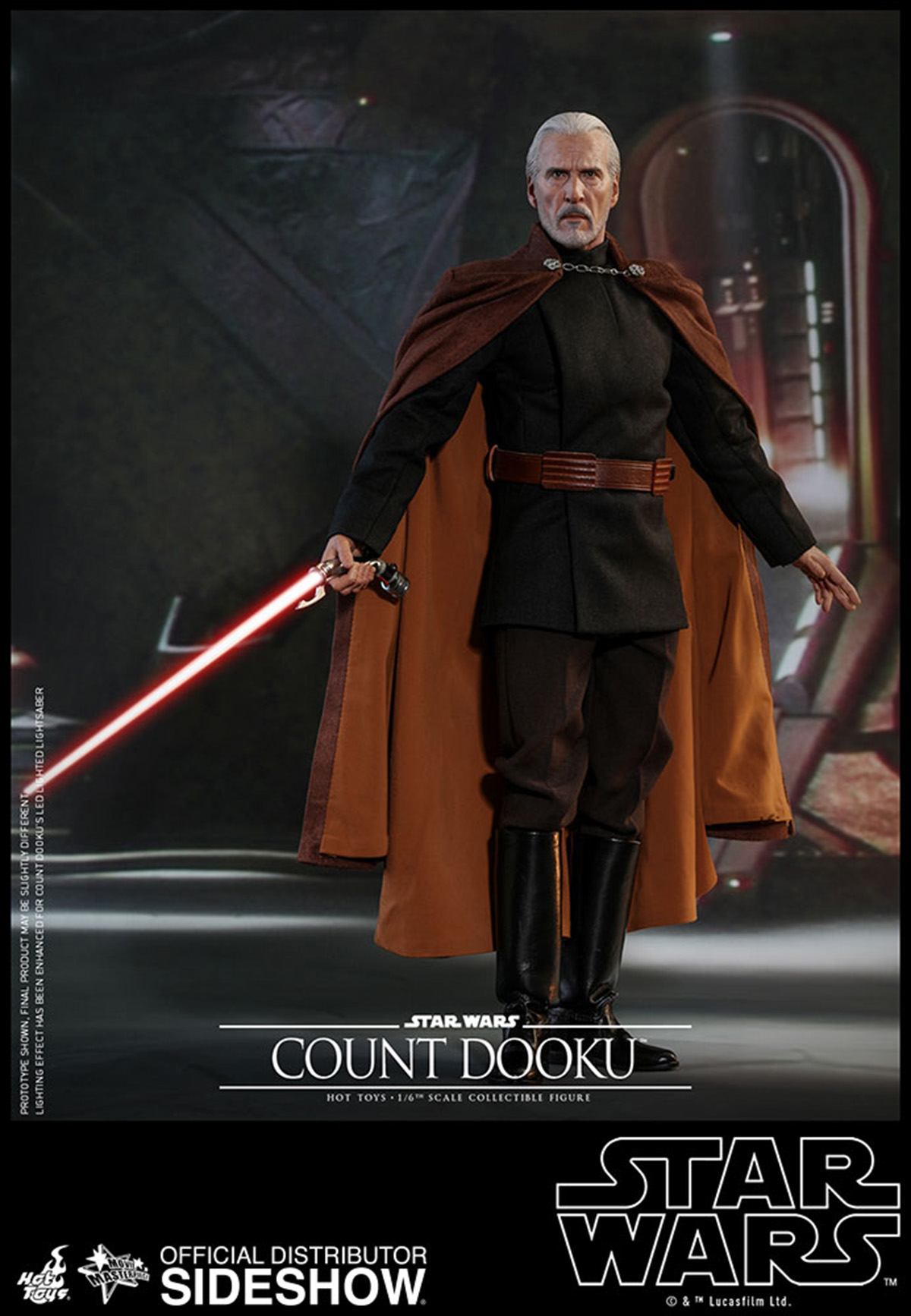 Attack of the Clones Hot Toys Count Dooku
