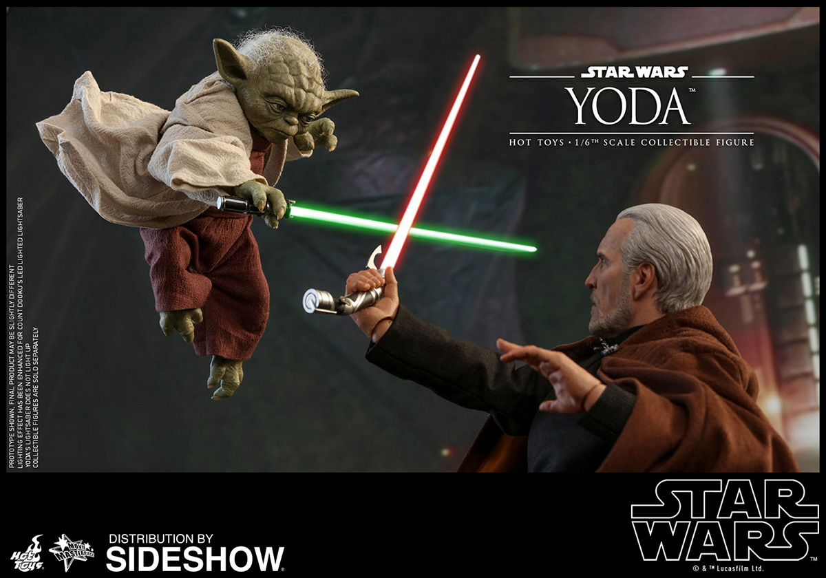 Attack of the Clones Hot Toys Yoda