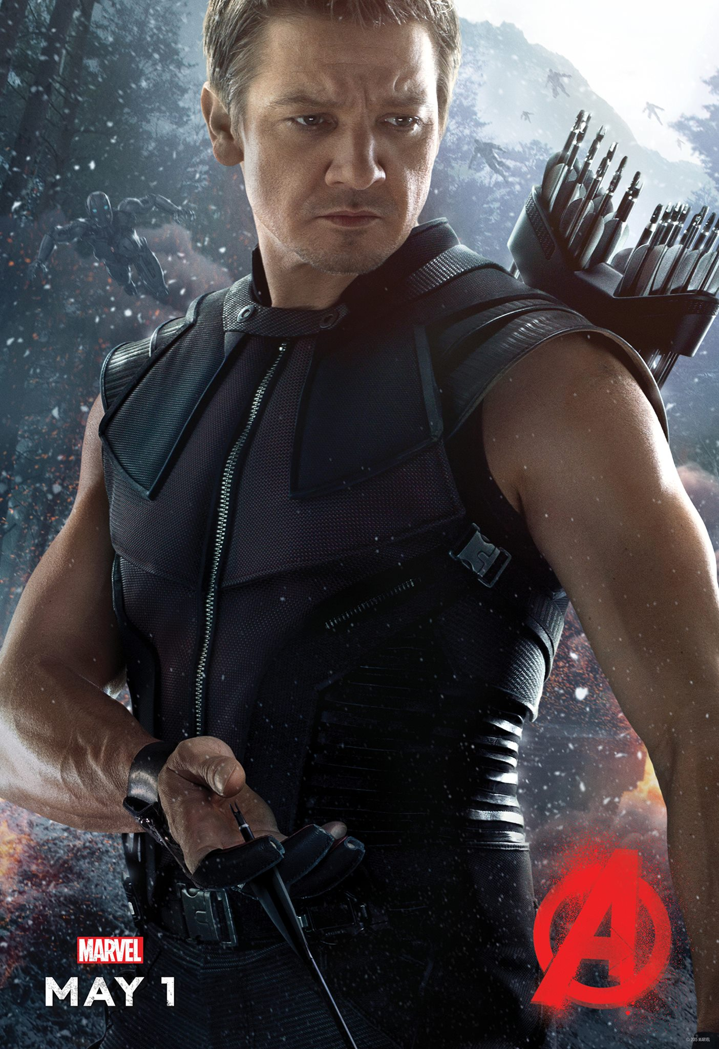 Avengers: Age of Ultron Hawkeye Poster