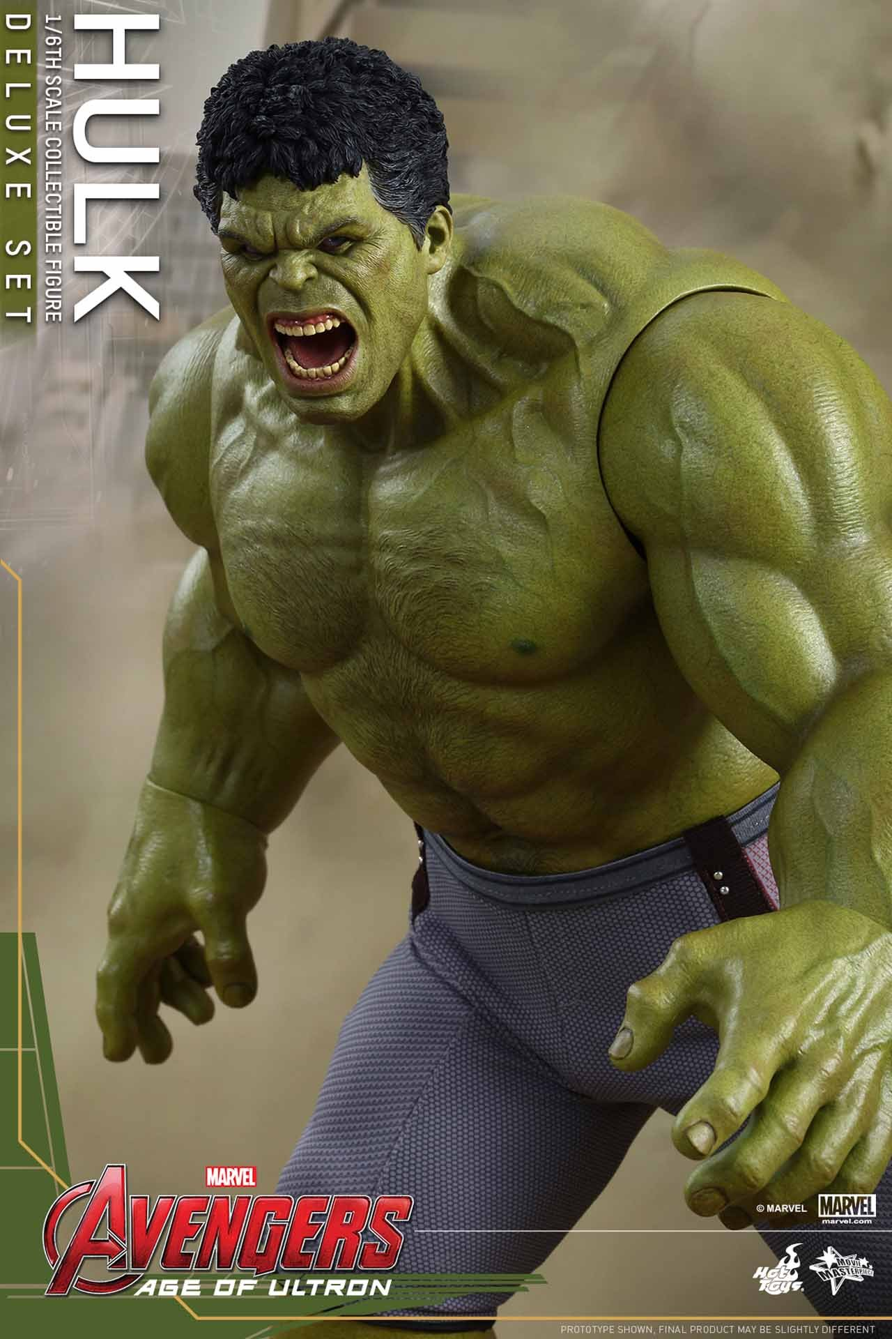 Hot Toys Reveals Avengers: Age of Ultron 1/6th Scale Hulk ...