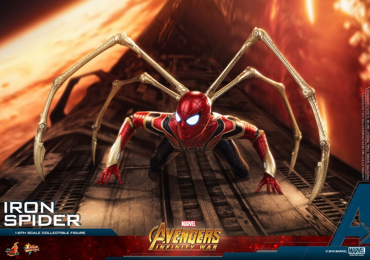 Iron Spider Hot Toy
