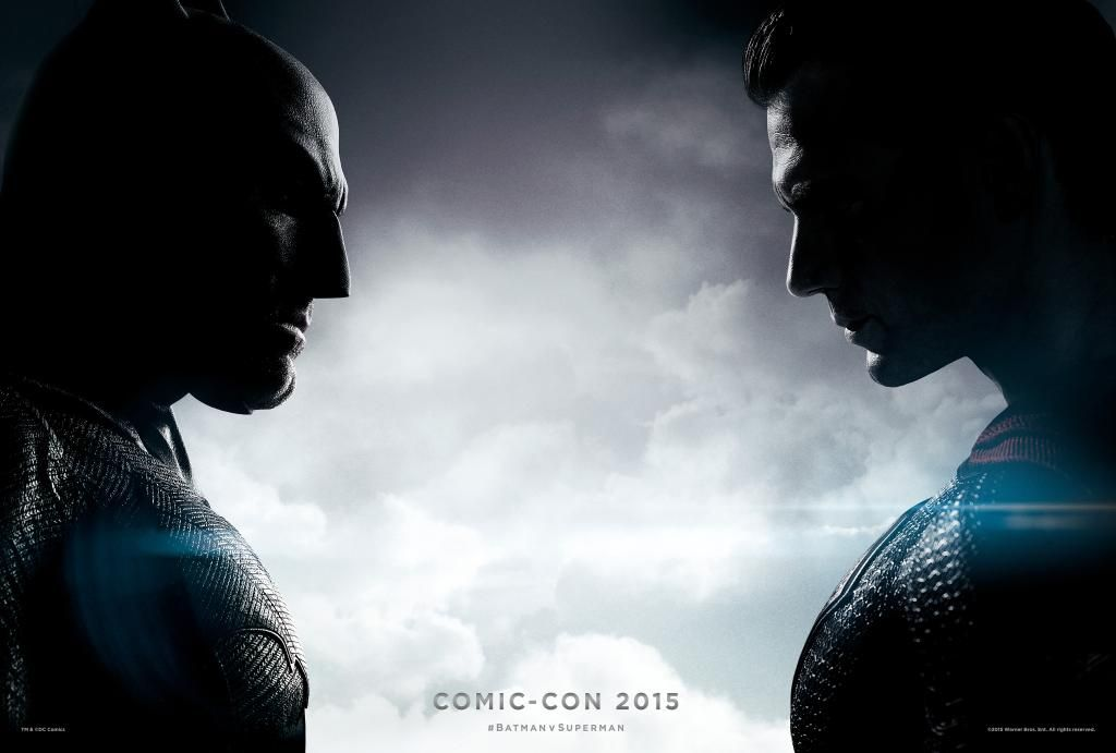 Batman v Superman: Dawn of Justice Comic-Con Banner