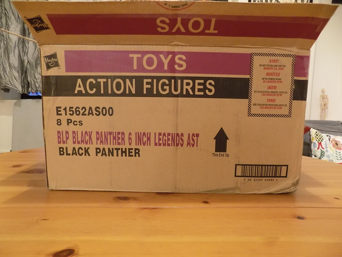 Black Panther Marvel Legends Unboxing