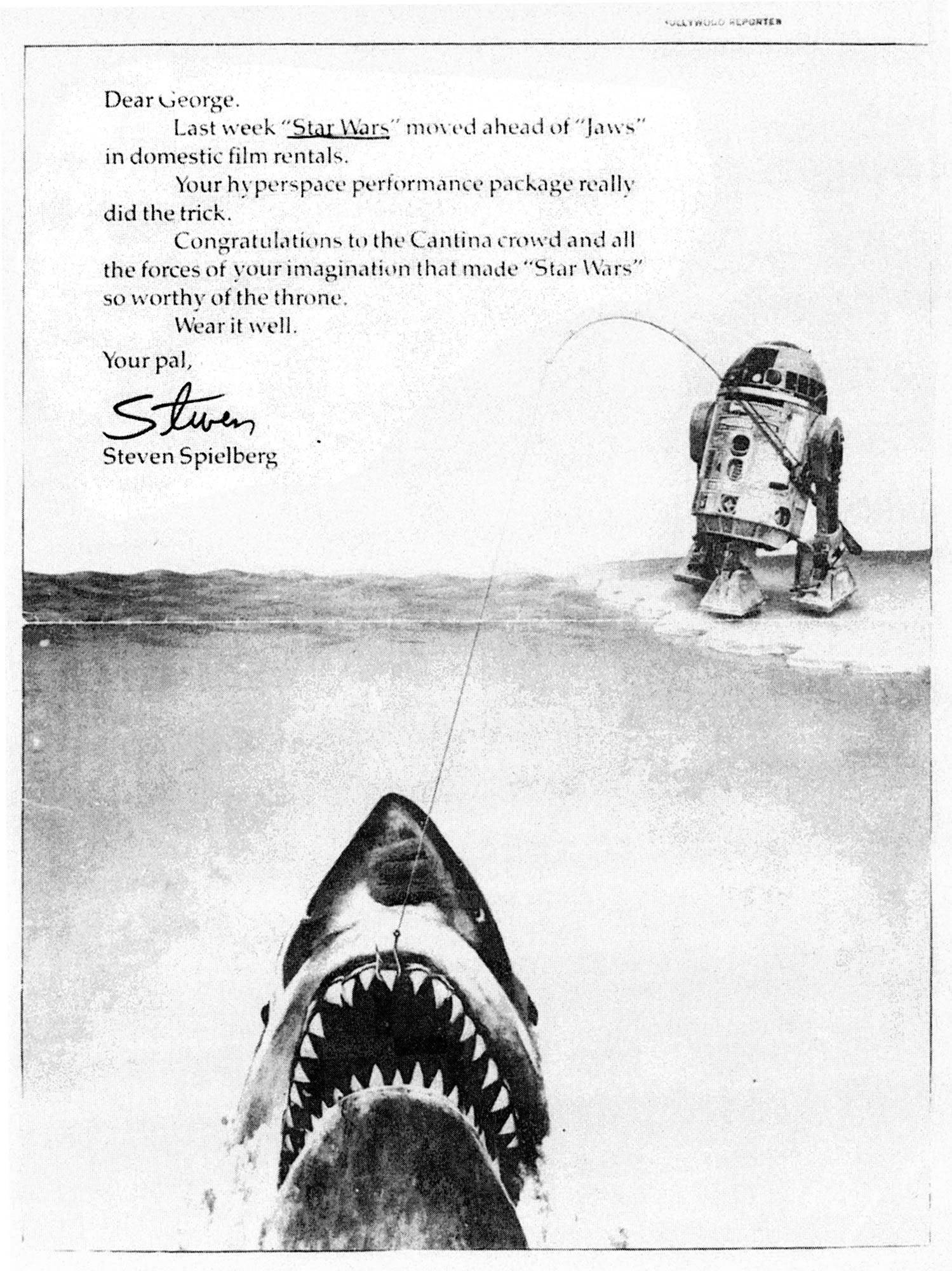 Star Wars Overtakes Jaws