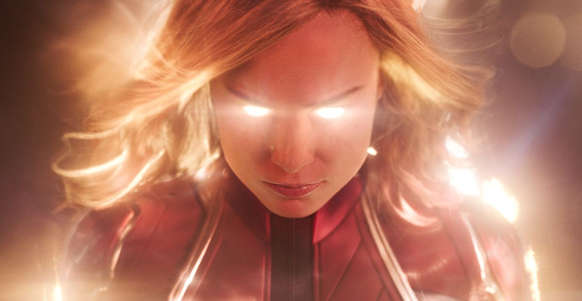 Marvel Studios' CAPTAIN MARVELCaptain Marvel (Brie Larson) Photo: Film Frame©Marvel Studios 2019