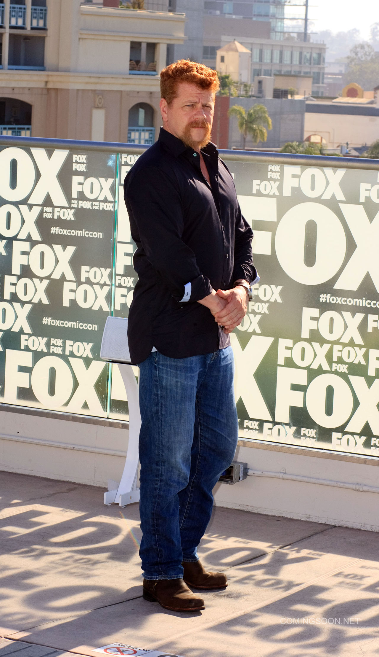 Fox Comic Con breakfast with the cast of Walking Dead and Outcast Featuring: Michael Cudlitz Where: San Diego, California, United States When: 22 Jul 2016 Credit: Tony Forte/WENN