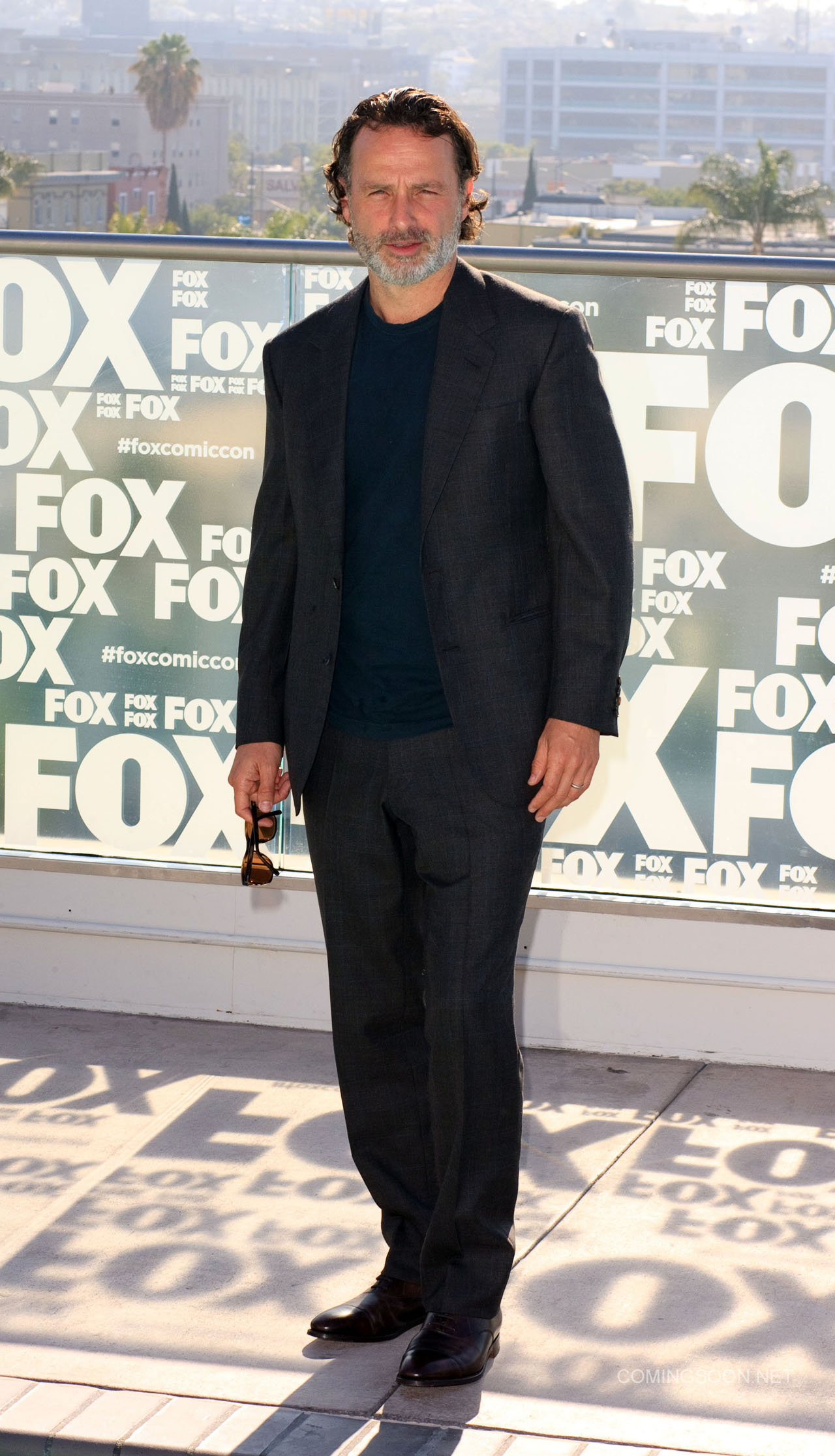 Fox Comic Con breakfast with the cast of Walking Dead and Outcast Featuring: Andrew Lincon Where: San Diego, California, United States When: 22 Jul 2016 Credit: Tony Forte/WENN