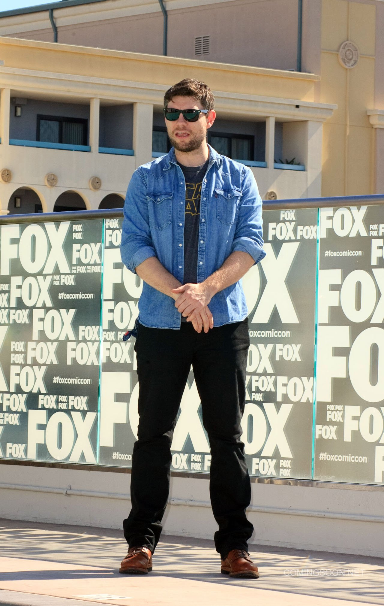 Fox Comic Con breakfast with the cast of Walking Dead and Outcast Featuring: Patrick Fugit Where: San Diego, California, United States When: 22 Jul 2016 Credit: Tony Forte/WENN