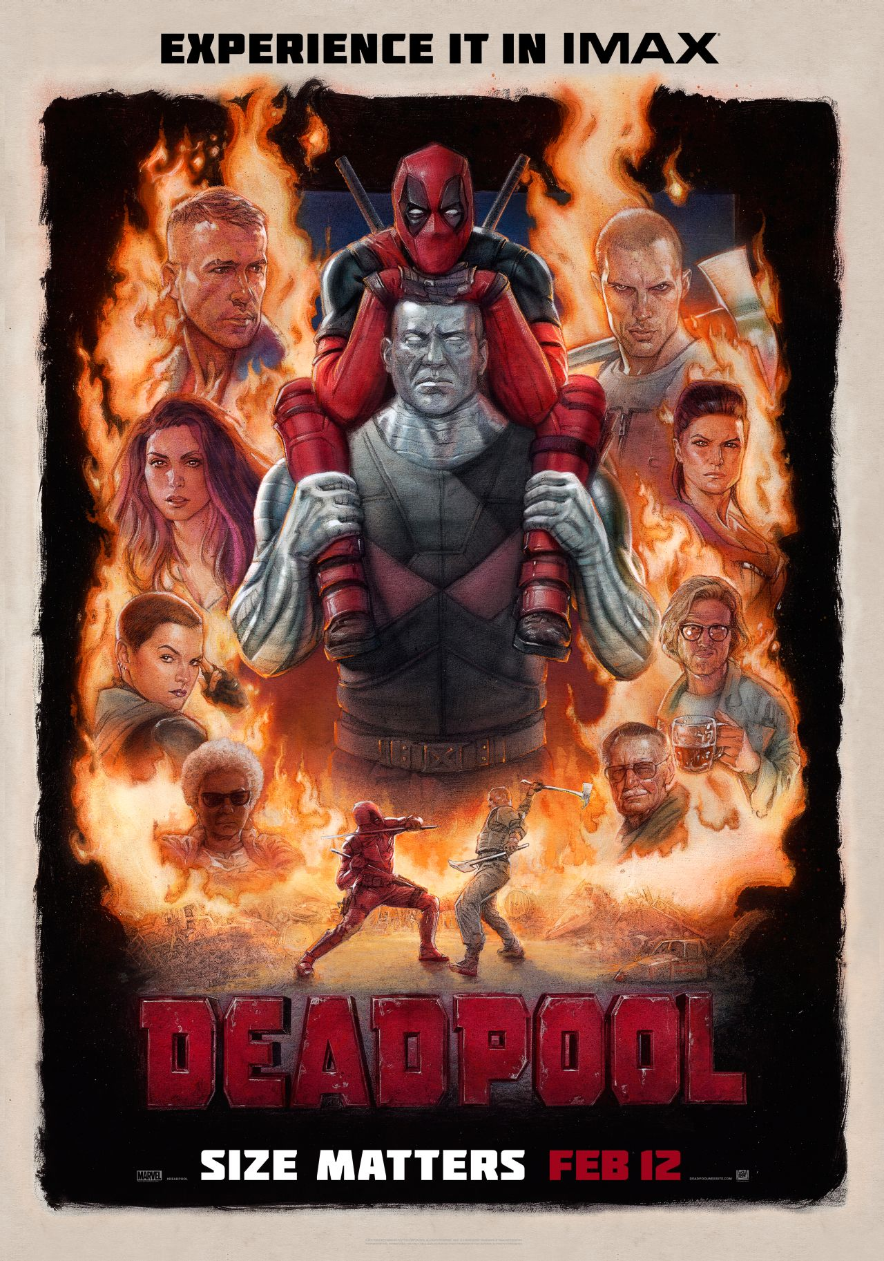 Deadpool Nuovo Trailer E Poster Imax Del Film