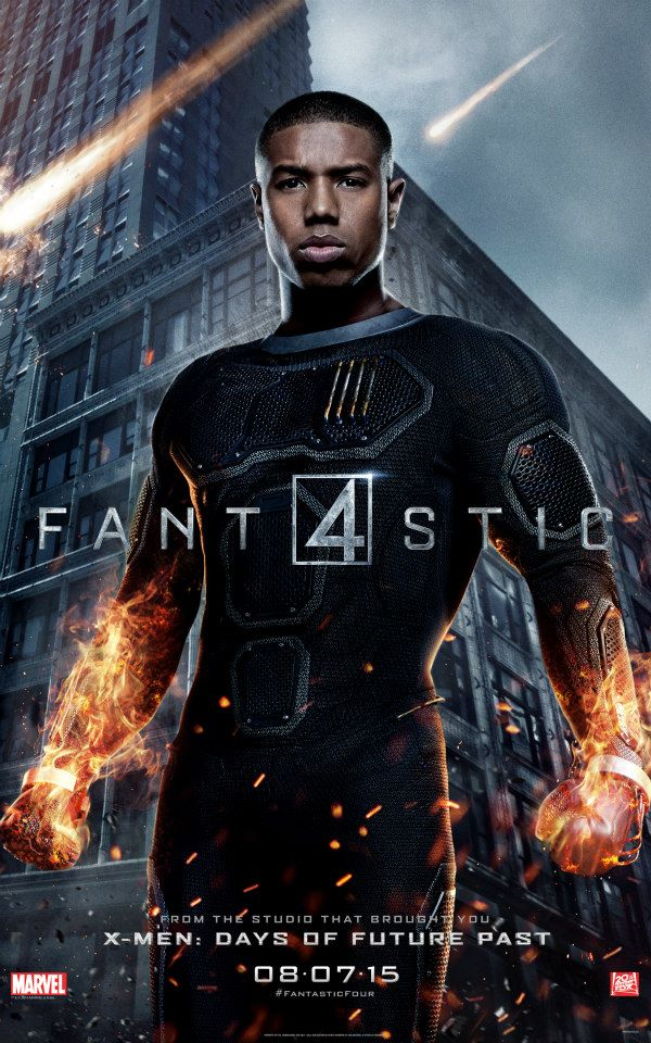 Fantastic Four Johnny Storm Character Poster