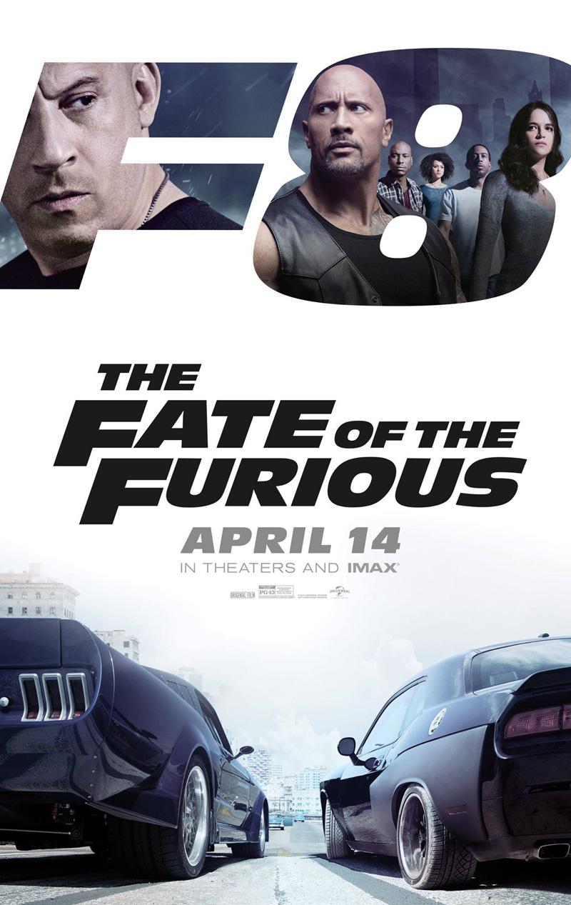 Image result for the fate of the furious poster