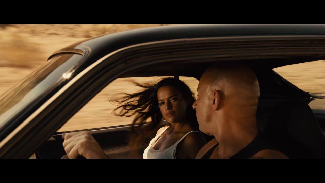over 60 screenshots from the furious 7 super bowl spot. Black Bedroom Furniture Sets. Home Design Ideas
