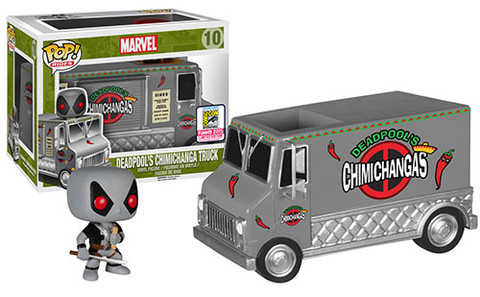 Pop! Rides: X-Force Deadpool's Chimichanga Truck