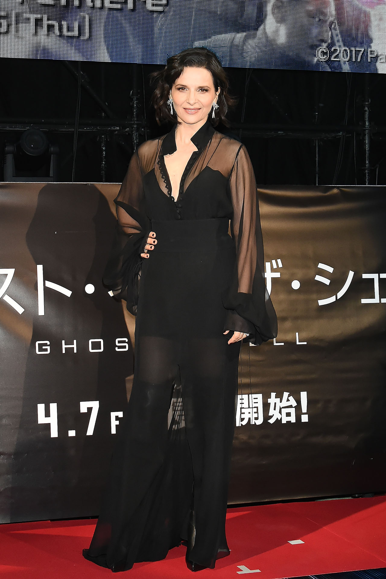 Ghost in the Shell Tokyo Premiere