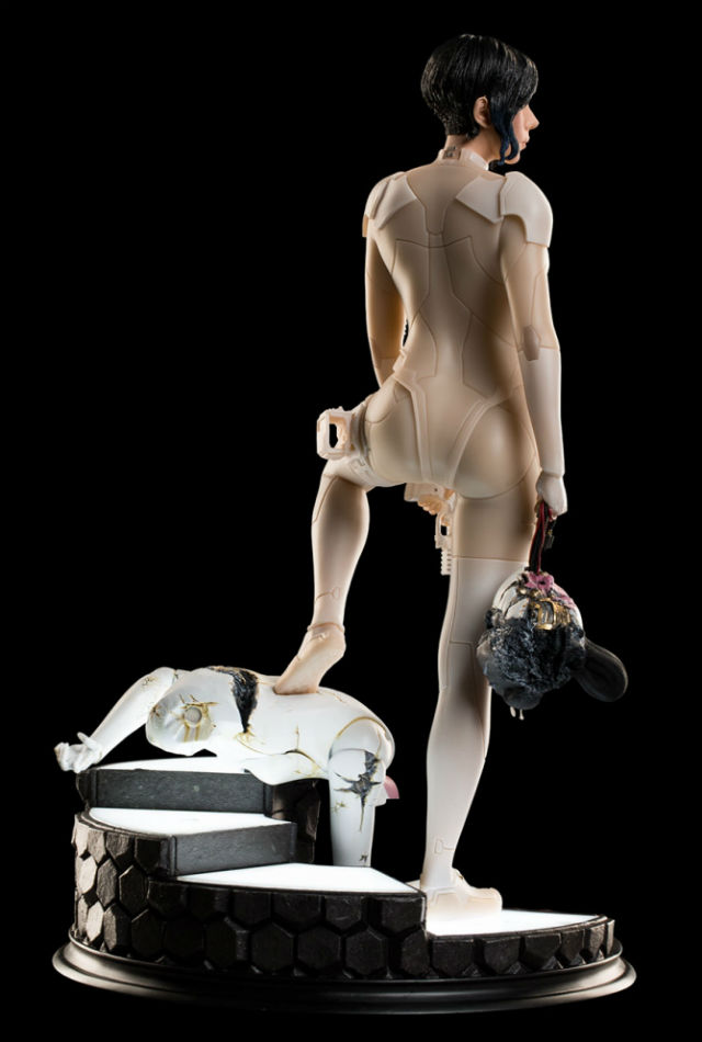 Major Back View - Ghost In the Shell - WETA Collectibles