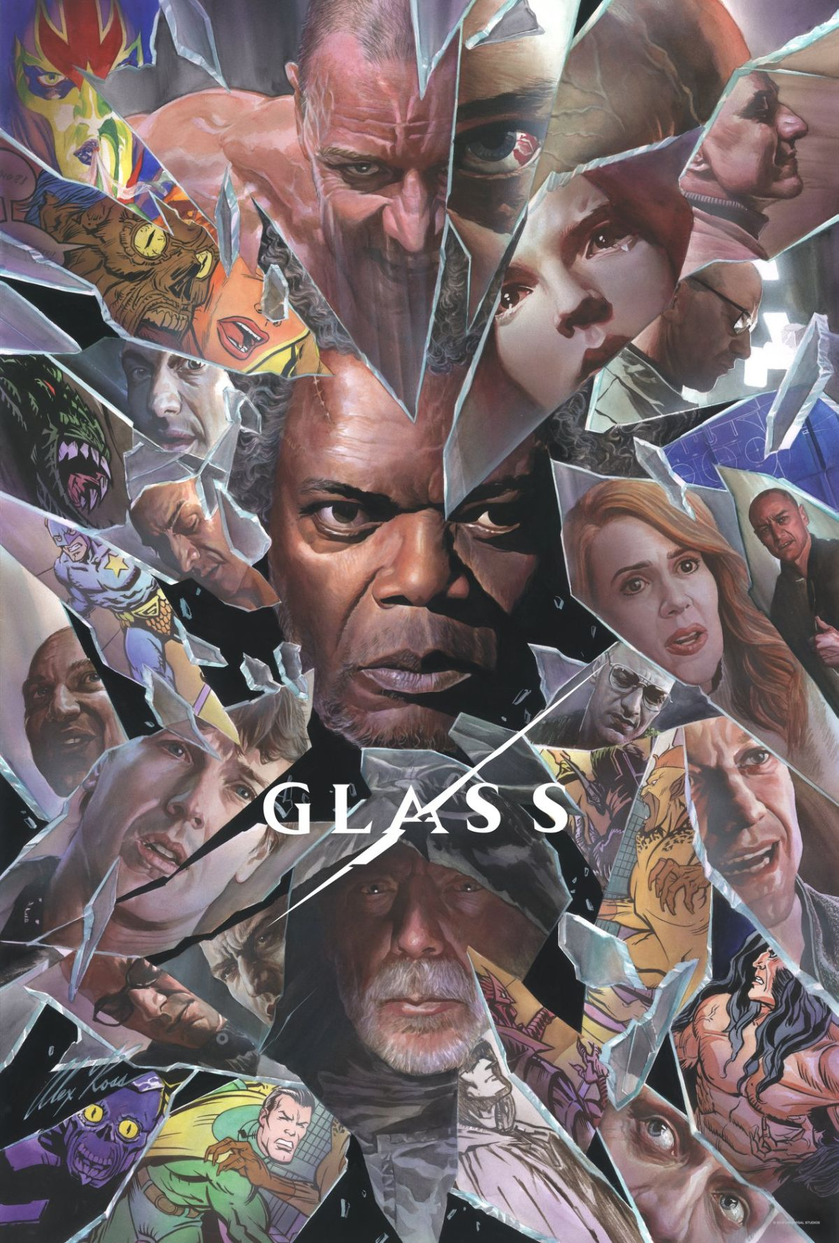 Glass Comic-Con poster