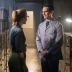"""GOTHAM: Edward Nygma (Cory Michael Smith, R) flirts with co-worker Kristin Kringle (guest star Chelsea Spack, L) in the """"What The Little Bird Told Him"""" episode of GOTHAM airing Monday, Jan. 19 (8:00-9:00 PM ET/PT) on FOX. ©2014 Fox Broadcasting Co. Cr: Jeff Neumann/FOX"""