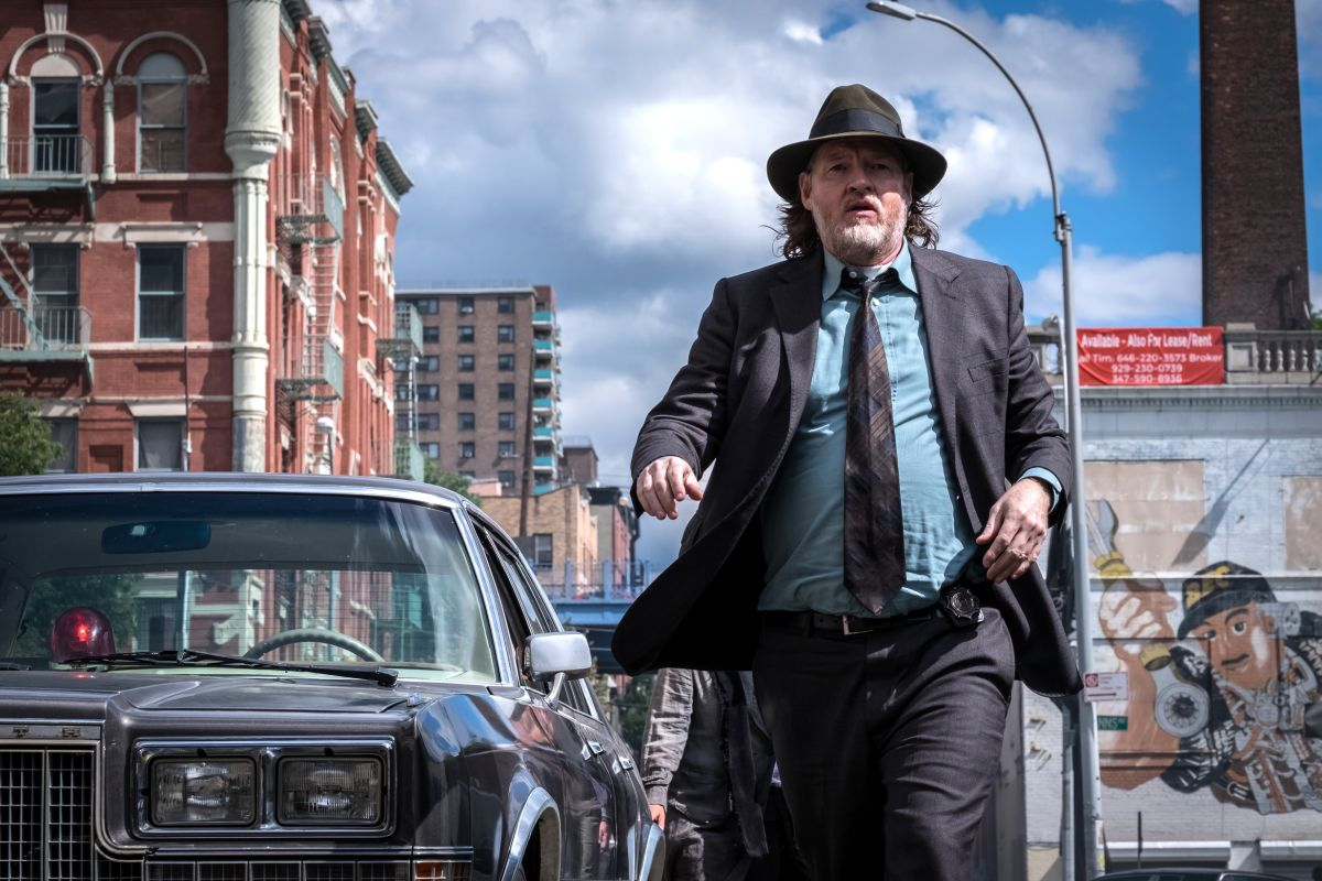 """GOTHAM: Donal Logue in the """"A Dark Knight: A Day in the Narrows"""" episode of GOTHAM airing Thursday, Nov. 2 (8:00-9:01 PM ET/PT) on FOX. ©2017 Fox Broadcasting Co. Cr: Jeff Neumann/FOX"""