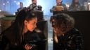 """GOTHAM: L-R: Jessica Lucas and Camren Bicondova in the """"A Dark Knight: A Day in the Narrows"""" episode of GOTHAM airing Thursday, Nov. 2 (8:00-9:01 PM ET/PT) on FOX. ©2017 Fox Broadcasting Co. Cr: Jeff Neumann/FOX"""
