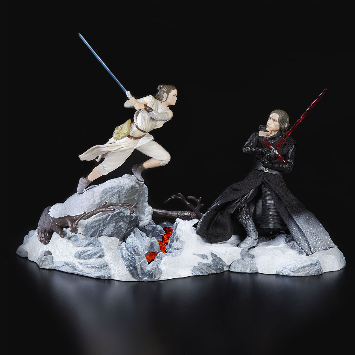 Star Wars: The Black Series Rey & Kylo Ren Centerpiece (Starkiller Base)