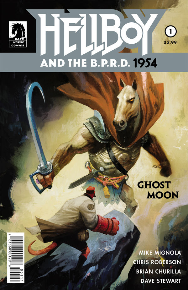 Hellboy and the BPRD: 1954 – Ghost Moon #1