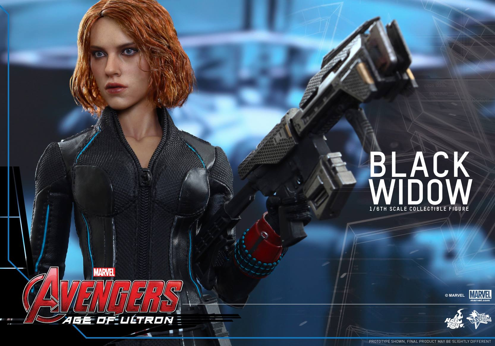 Hot Toys Reveals Avengers Age Of Ultron Black Widow