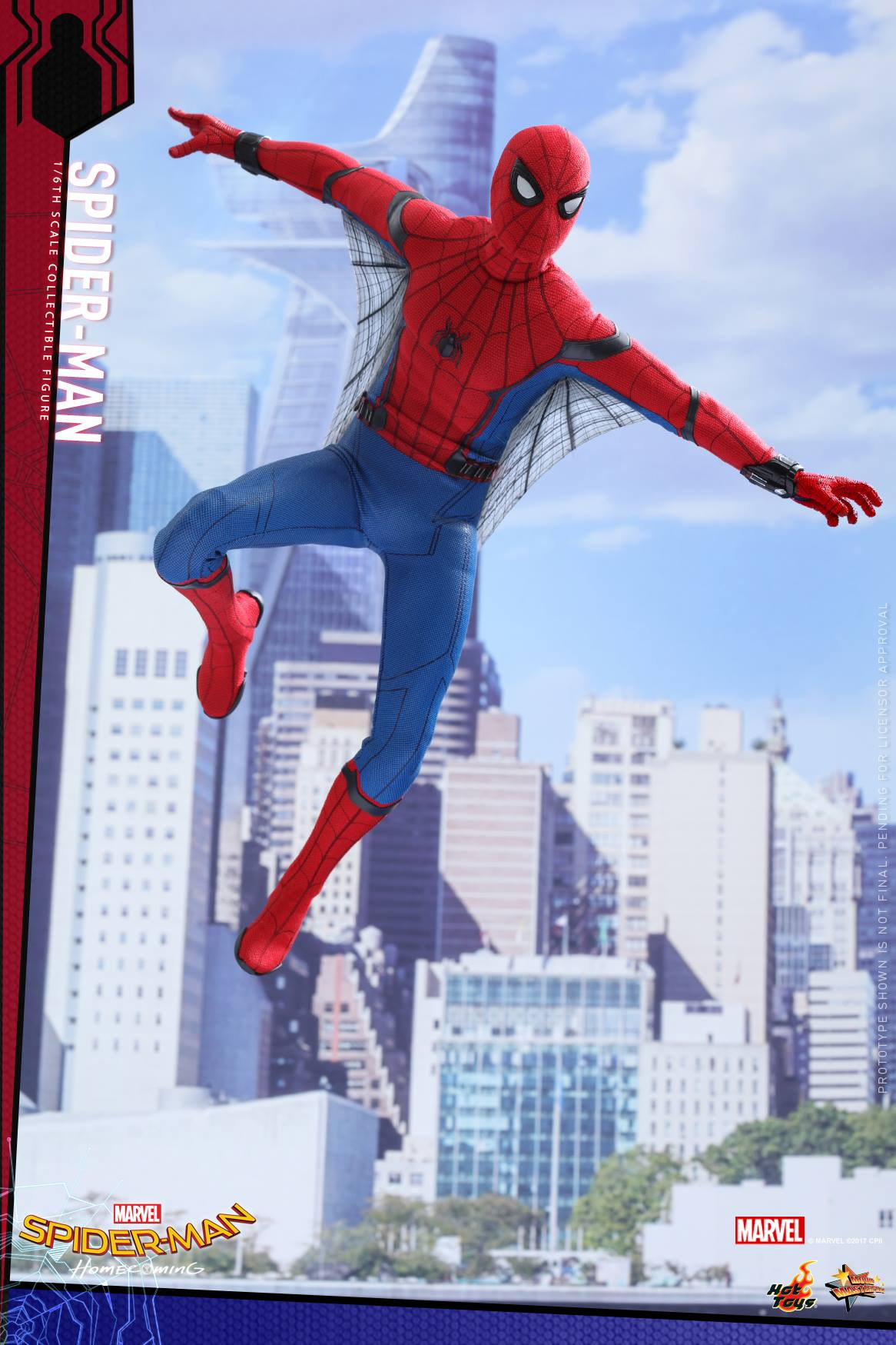 Spider-Man: Homecoming Hot ToySpider-Man: Homecoming Hot ToySpider-Man: Homecoming Hot Toy