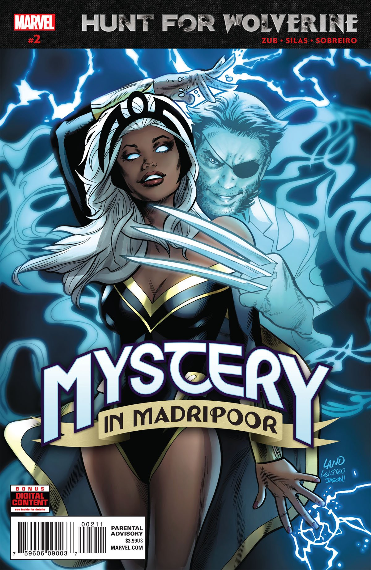 Hunt For Wolverine: Mystery In Madripoor #2 cover