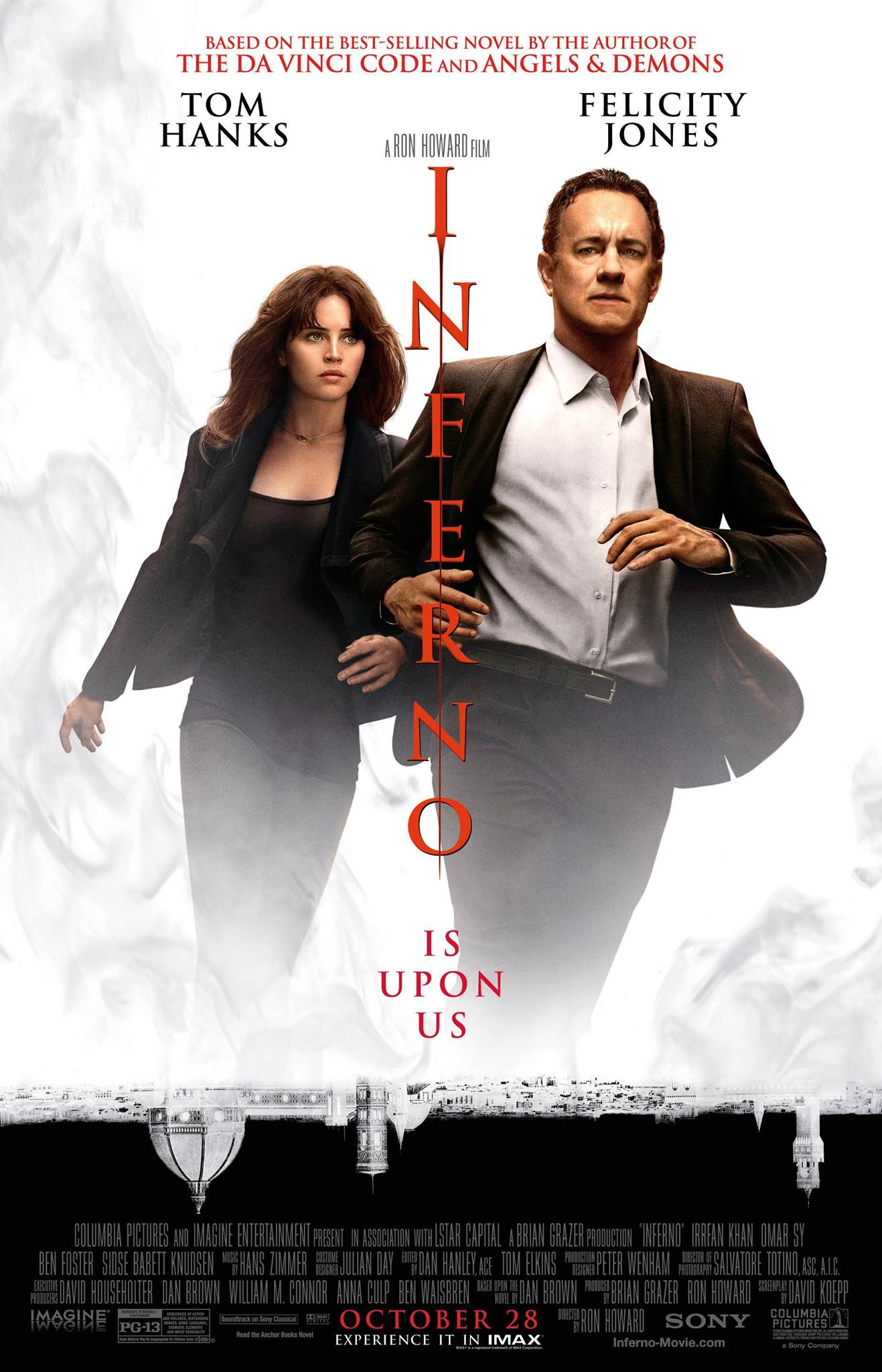 Image result for inferno movie poster