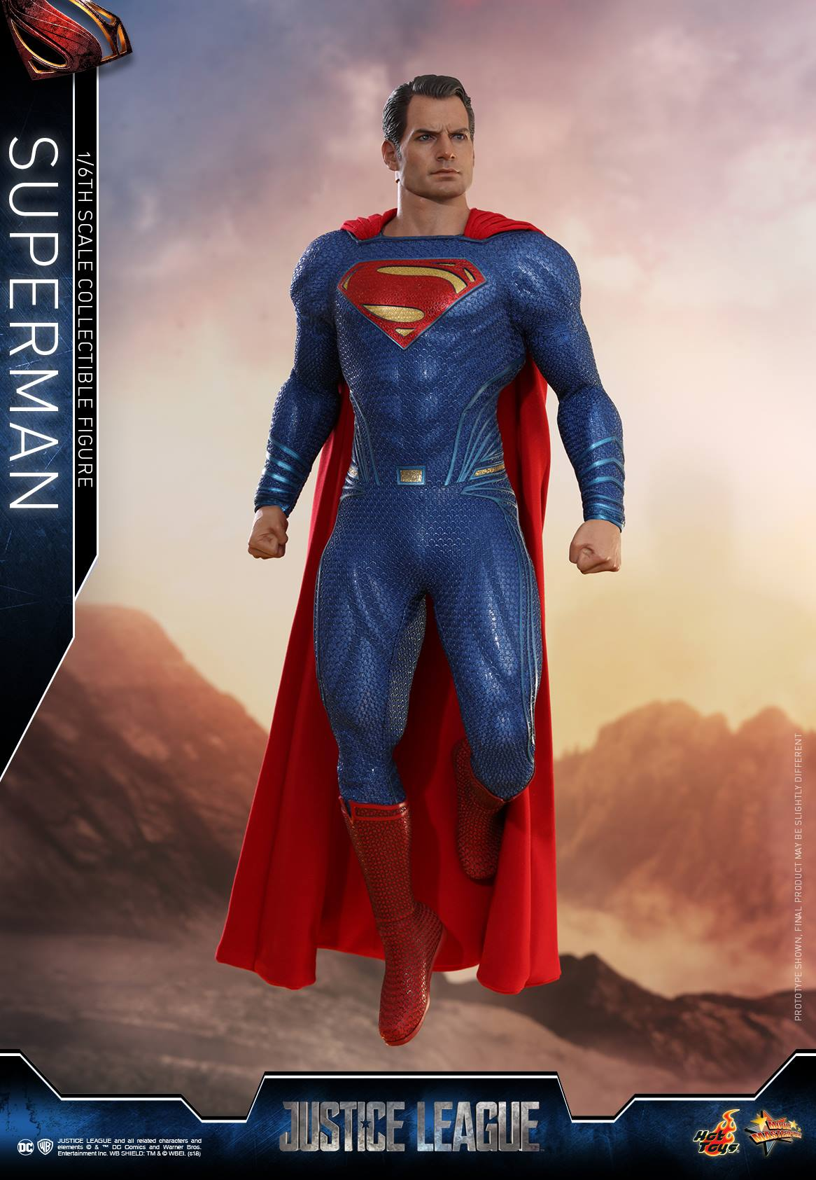 Justice League Superman Hot Toy