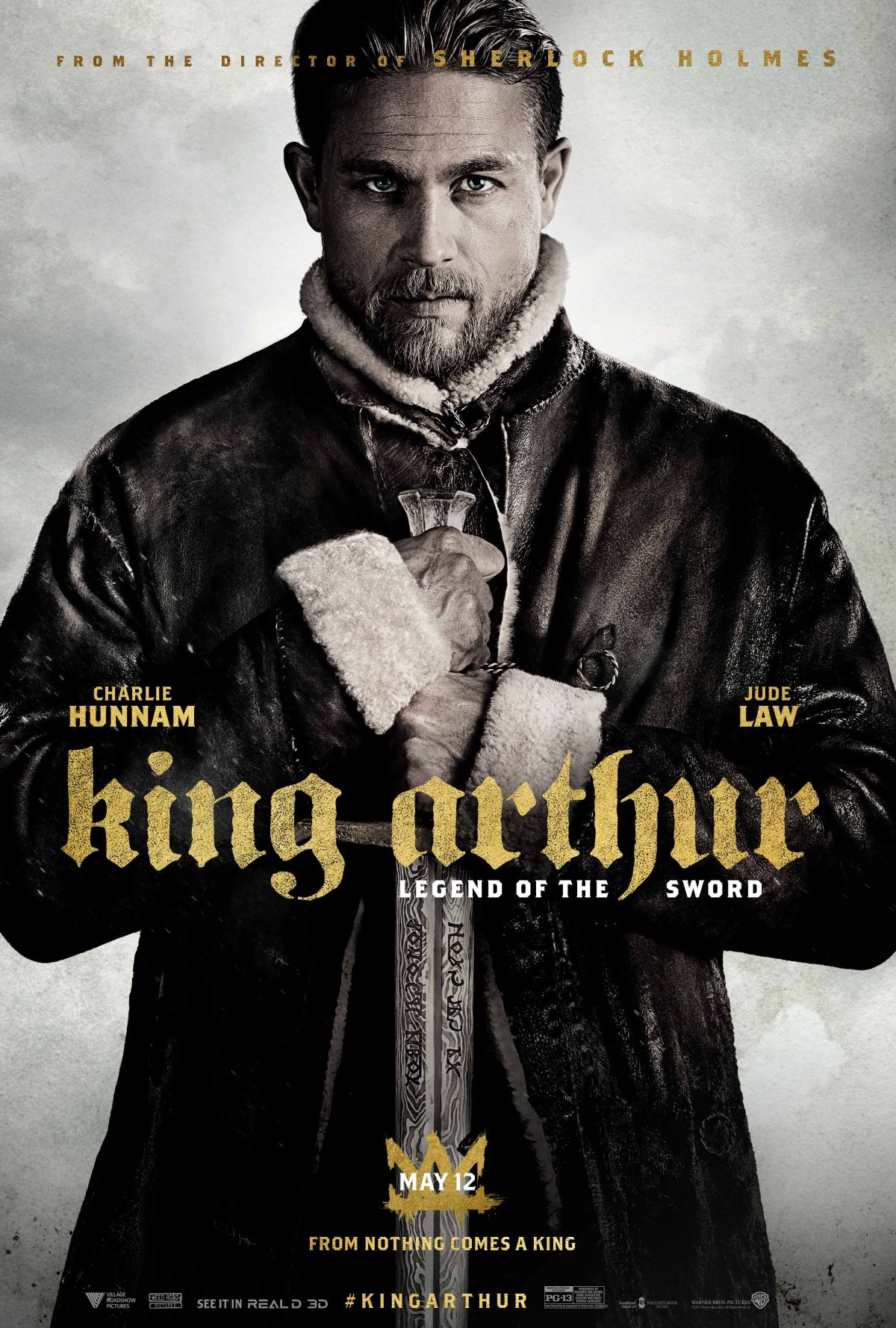 Image result for king arthur legend of the sword poster