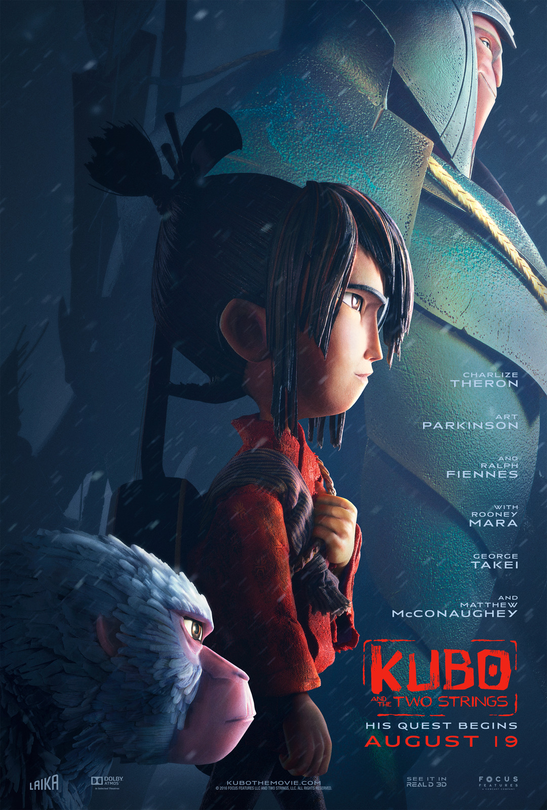 Kubo and the Two Strings Movie Trailer - Watch at CS!